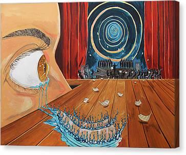 Music Canvas Print by Lazaro Hurtado