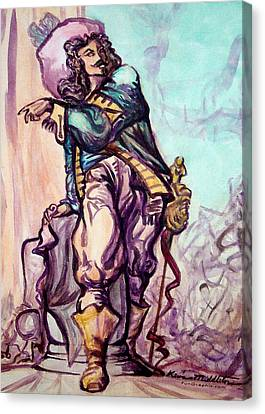 Musketeer Canvas Print by Kevin Middleton