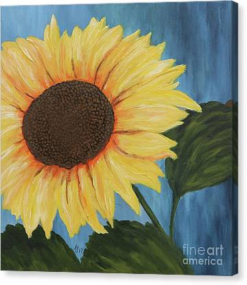 Flowerrs Canvas Print -  My Sunshine by Christiane Schulze Art And Photography