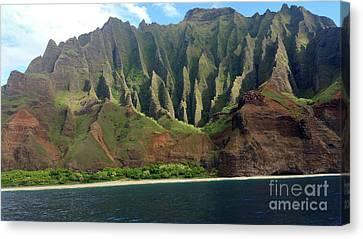 Canvas Print - Na Pali Coast by Karen Nicholson