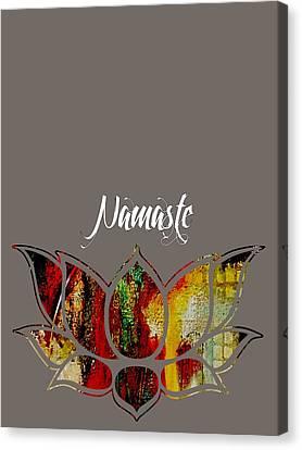 Namaste Canvas Print by Marvin Blaine