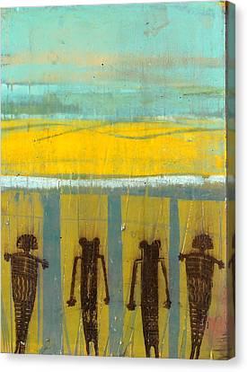 Nambe Pueblo Canvas Print by Jorge Luis Bernal