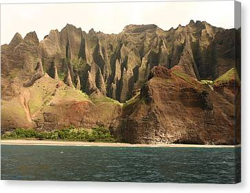 Napali Coast Canvas Print by Andrei Fried