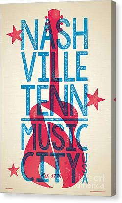 Nashville Tennessee Canvas Print - Nashville Tennessee Poster by Jim Zahniser