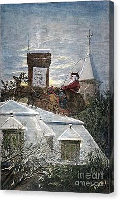 Christmas Eve Canvas Print - Nast: Santa Claus by Granger