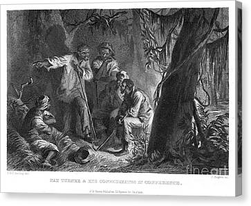 Nat Turner (1800-1831) Canvas Print by Granger
