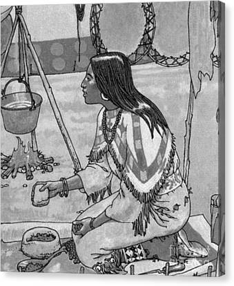Native American Medicine Canvas Print