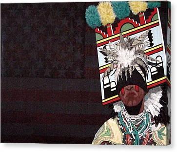 Native Dancer Canvas Print by Bernard Goodman