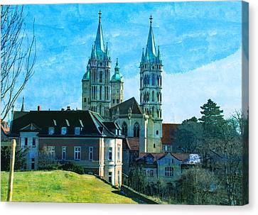 Naumburg Dom Saxony Anhalt Germany  Canvas Print