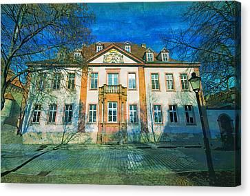 Naumburg Saxony Anhalt Germany  Canvas Print
