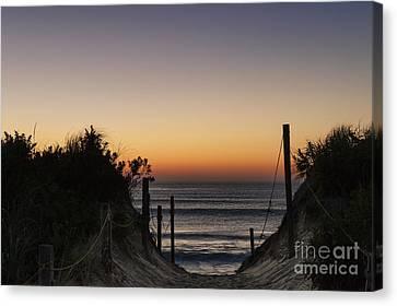 Nauset Beach Canvas Print - Nauset Beach Sunrise by John Greim