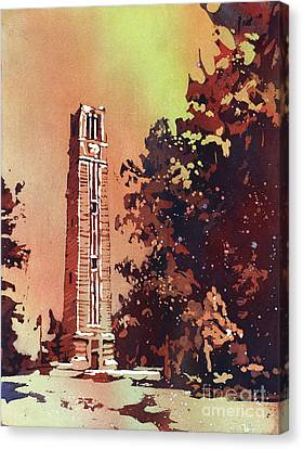 Ncsu Bell-tower Canvas Print