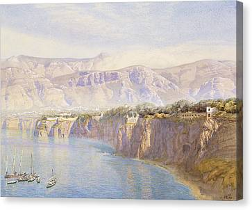 Near Sorrento Canvas Print by John Brett