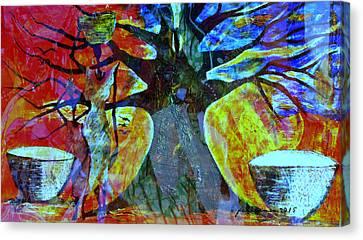 Goree Canvas Print - Neighbor - Voisin by Fania Simon