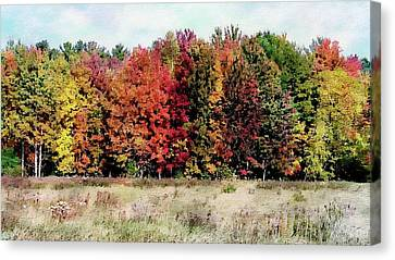 Canvas Print featuring the photograph New Hampshire's True Colors by Joseph Hendrix