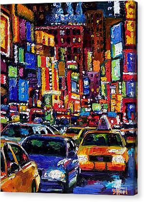 New York City Canvas Print by Debra Hurd