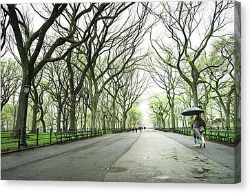 New York City Romance Canvas Print