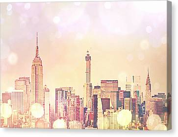 New York City - Skyline Canvas Print by Vivienne Gucwa