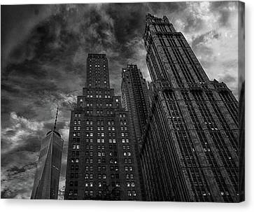 New York Highrise Canvas Print by Martin Newman
