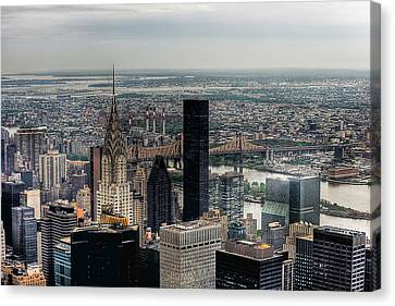 New York New York Canvas Print