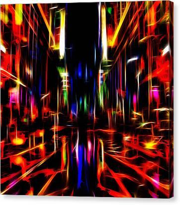 New York Nights Canvas Print