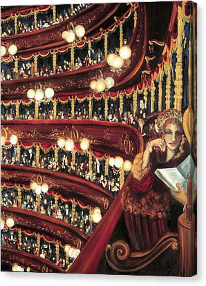 Night At The Opera Canvas Print by Ione Citrin