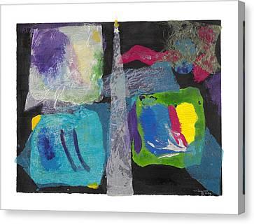 Night Light Canvas Print by Nancy Brockett