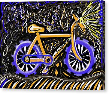 Night Ride II Canvas Print by Colleen Proppe