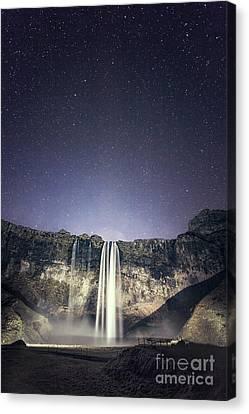 Nightfall Canvas Print by Evelina Kremsdorf