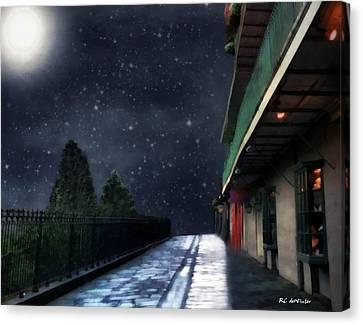 Nightwalk Canvas Print by RC deWinter