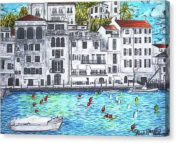 Nizza Canvas Print by Alan MacFarlane