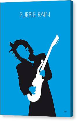 No009 My Prince Minimal Music Poster Canvas Print by Chungkong Art