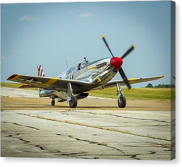 North American Tp-51c Mustang Canvas Print