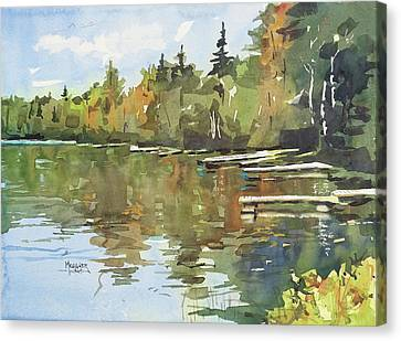 North Country Reflections Canvas Print by Spencer Meagher