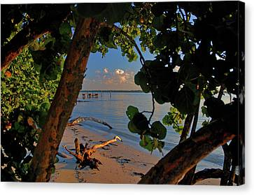 Canvas Print featuring the photograph 1- North Palm Beach by Joseph Keane