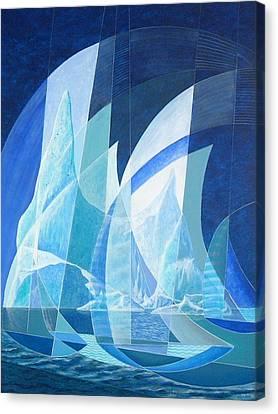 North Run Canvas Print by Douglas Pike