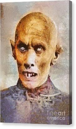 Nosferatu, Classic Vintage Horror Canvas Print