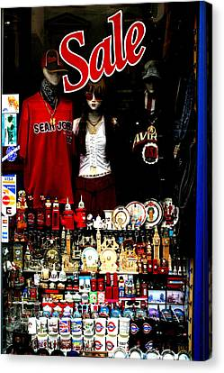 Not For Sale Canvas Print by Jez C Self
