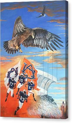 Auburn Canvas Print - Nova's Final Flight by ML McCormick