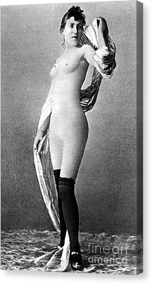 Nude Posing, C1888 Canvas Print by Granger
