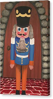 Canvas Print featuring the painting Nutcracker Sweet by Thomas Blood