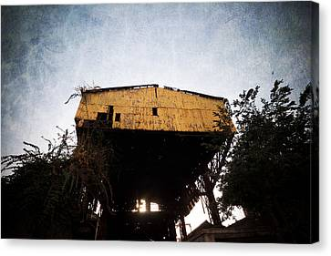 Obsolete Building Canvas Print by Kam Chuen Dung