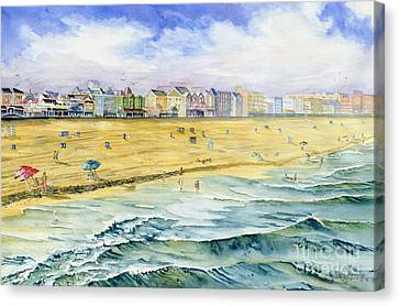 Ocean City Maryland Canvas Print by Melly Terpening