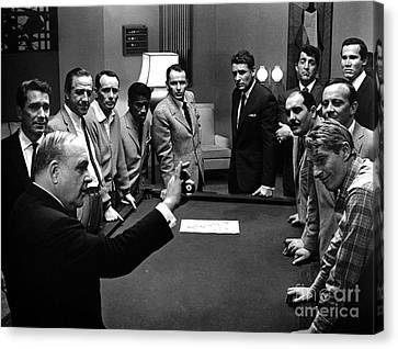 Ocean's 11 Promotional Photo. Canvas Print by The Titanic Project