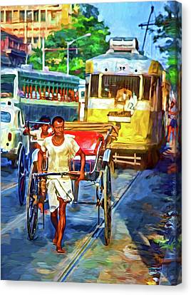 Oh Calcutta - Paint Canvas Print