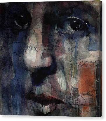 Paul Mccartney Canvas Print - Oh Darling  by Paul Lovering