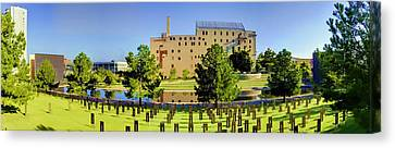 Survivor Art Canvas Print - Oklahoma City National Memorial by Ricky Barnard