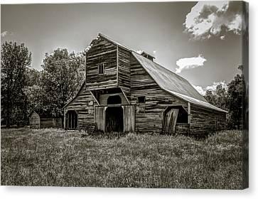 Old Barn Canvas Print by Jeff Burton