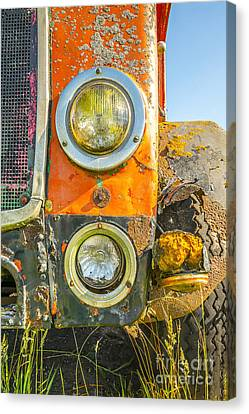 Old Bus Canvas Print