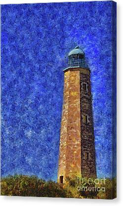 Old Cape Henry Lighthouse Canvas Print